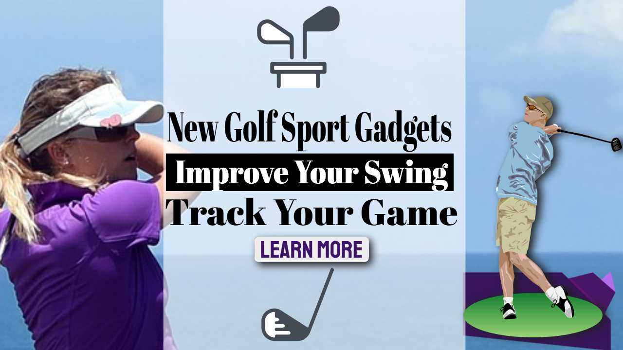 "Inmage text: ""New Golf Sport Gadgets""."